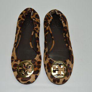 Tory Burch Cheetah Animal Print Calf Hair Reva
